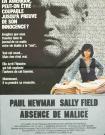 ABSENCE DE MALICE